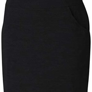 Columbia Women's Anytime Casual Skort, Black Japanese Micro Print, Small