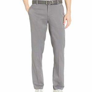 Amazon Essentials Men's Standard Straight-Fit Stretch Golf Pant, Gray, 32W x 32L