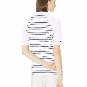 Skechers Golf Women's Backswing Half Sleeve Golf Polo, White S