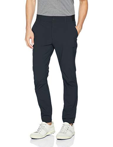 Oakley Men's Tapered Golf Pants, Blackout, 38