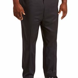 Amazon Essentials Men's Quick-Dry Golf Pant, Black, 44W x 32L