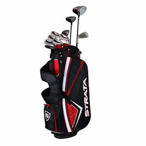 Callaway Men's Strata Plus Complete Golf Set (14-Piece, Right Hand, Steel)