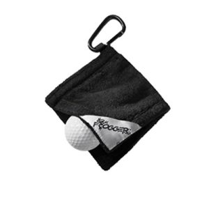 Frogger Golf Amphibian Wet/Dry Golf Ball Towel (4″ x 4″)