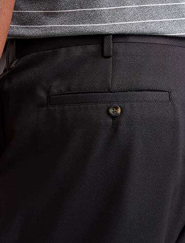 Amazon Essentials Men's Quick-Dry Golf Pant, Black, 44W x 32L