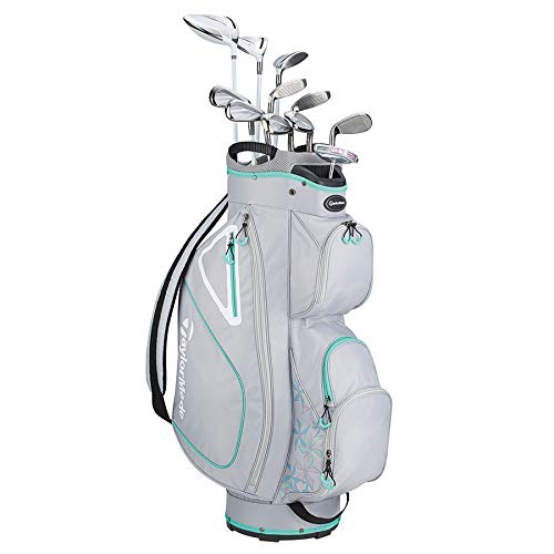 TaylorMade Golf Kalea Package Set Grey Green RH, 11 Clubs
