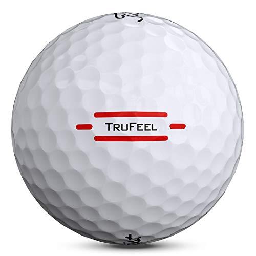 Titleist TruFeel Golf Ball, White, (One Dozen)