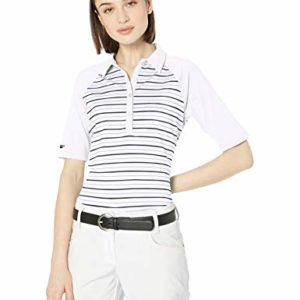Skechers Golf Women's Backswing Half Sleeve Golf Polo, White S