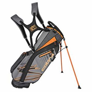 Cobra Golf 2020 Ultralight Stand Bag (Quiet Shade-Vibrant Orange)