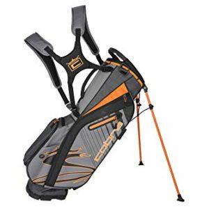 Cobra Golf 2020 Ultralight Stand Bag (Quiet Shade-Vibrant Orange)