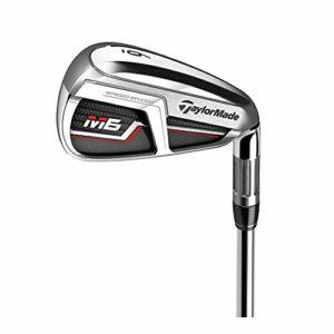 TaylorMade Golf M6 Iron Set, 4-PW, Right Hand, Regular Flex Shaft: KBS Max 85
