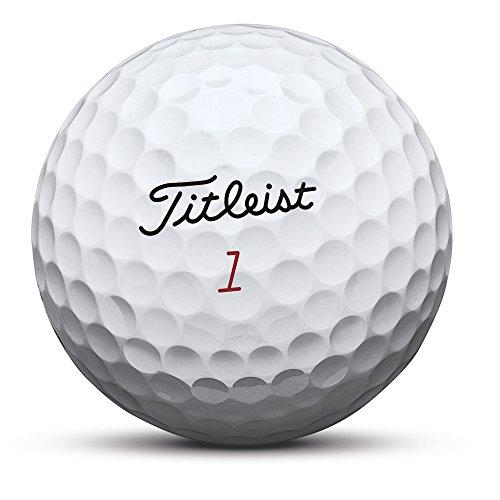 Titleist Pro V1x Golf Balls, White, Low Numbers  1-4 (One Dozen)