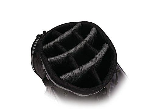 Callaway Golf 2017 Capital Cart Bag, Black/White