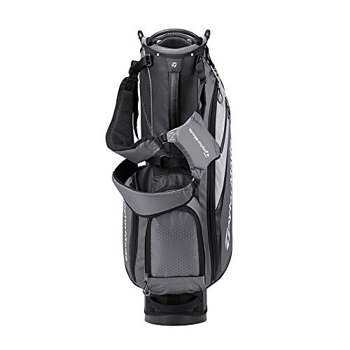 TaylorMade 2019 Golf Select Stand Bag, Gray/Black