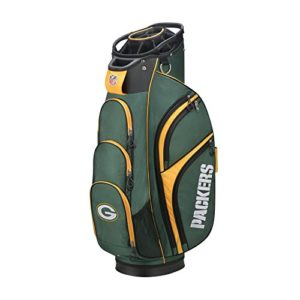Wilson 2018 NFL Golf Cart Bag, Green Bay Packers