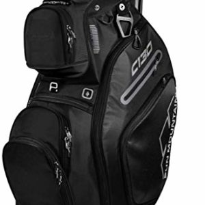 Sun Mountain Golf 2019 C-130 Cart Bag BLACK (Black)