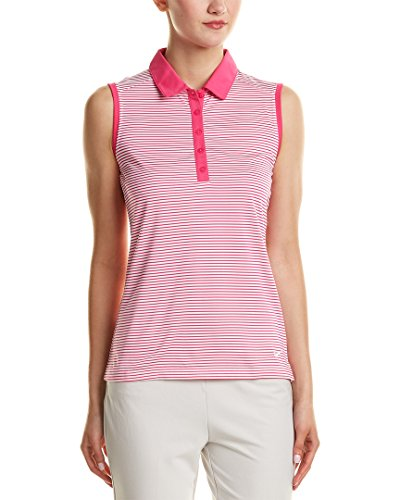Nike Golf Women's Victory Solid Sleeveless (X-Large, Pink)