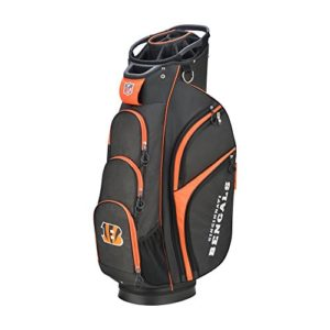 Wilson 2018 NFL Golf Cart Bag, Cincinnati Bengals
