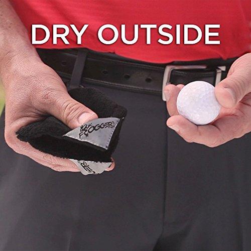 Frogger Golf Amphibian Wet/Dry Golf Ball Towel (4″ x 4″)