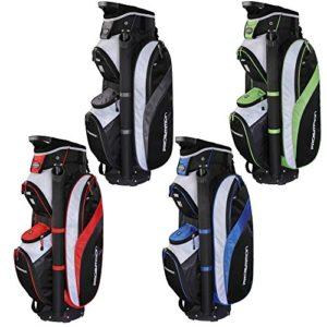 PROSiMMON Tour 14 Way Cart Golf Bag Black/Red