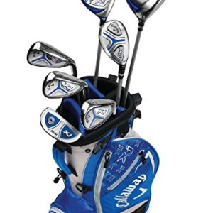 Callaway Golf Xj Junior Golf Set, Level 3, 7 Piece Set, Right Hand, Blue