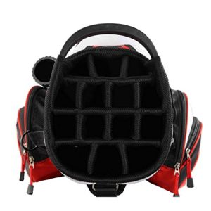 PROSiMMON Tour 14 Way Cart Golf Bag Black/Red