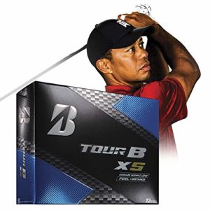 Bridgestone Golf Tour B XS Golf Balls, White  (One Dozen) – 760778083017