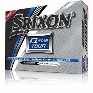Srixon Q-Star Tour Golf Balls, White (One Dozen)