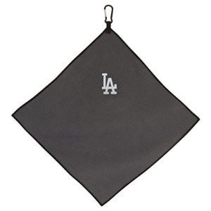 Team Effort MLB Los Angeles Dodgers 15″ x 15″ Grey Microfiber Towel15 x 15″ Grey Microfiber Towel, NA