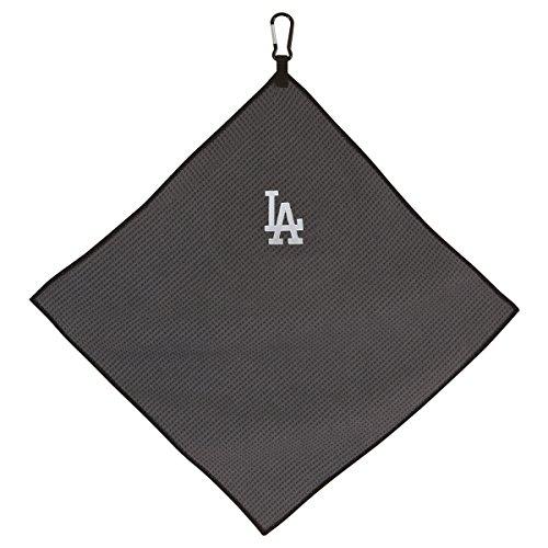 Team Effort MLB Los Angeles Dodgers 15″ x 15″ Grey Microfiber Towel15 x 15″ Grey Microfiber Towel, NA