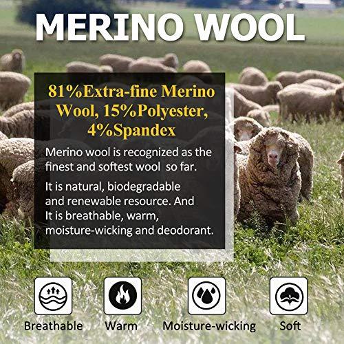 Women's Golf Socks Extra-fine Merino Wool Socks Moisture, Blue, Size One Size