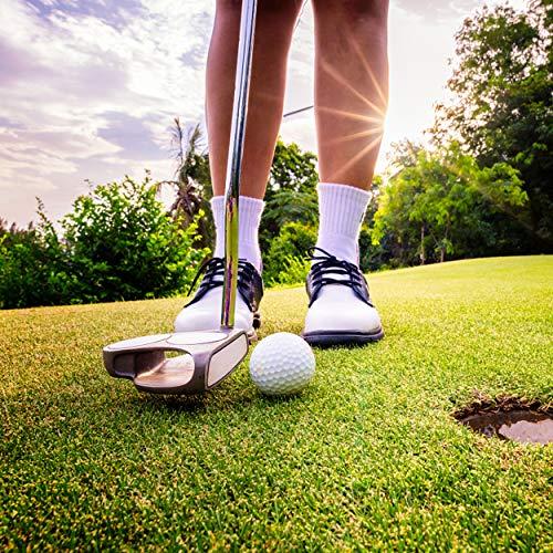 Cotton Running Socks, WXXM Women Golf Socks Ultra-Comfortable Running Socks Anti-Blister Moisture Wicking Socks 3 Pairs Gray L