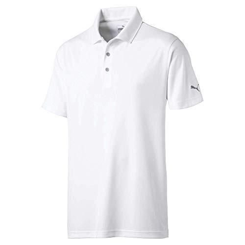Puma Golf Men's 2019 Rotation Polo, Bright White, Medium