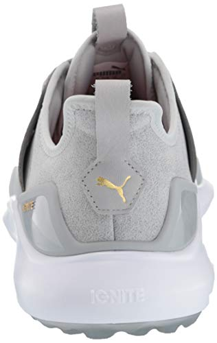 Puma Golf Men's Ignite Nxt Lace Golf Shoe, high Rise-puma Team Gold-puma White, 10 M US