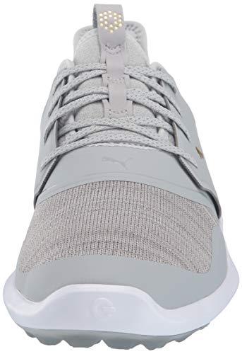 Puma Golf Men's Ignite Nxt Lace Golf Shoe, high Rise-puma Team Gold-puma White, 10 M US