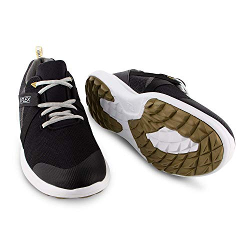FootJoy Men's Flex Golf Shoes Black 7 XW US