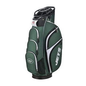 Wilson Sporting Goods 2018 NFL Golf Cart Bag, New York Jets, Green/White