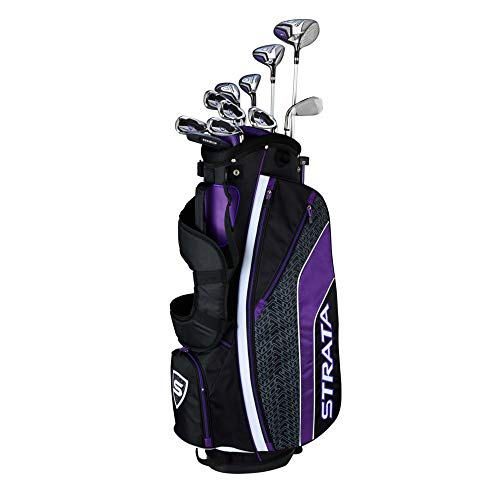 Callaway Women's Strata Ultimate Complete Golf Set (16-Piece, Right Hand, Graphite)