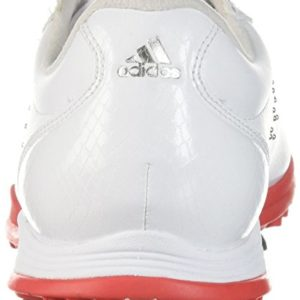 adidas Women's W Adipure DC Golf Shoe, FTWR White/Real Coral/Silver met, 7 Medium US