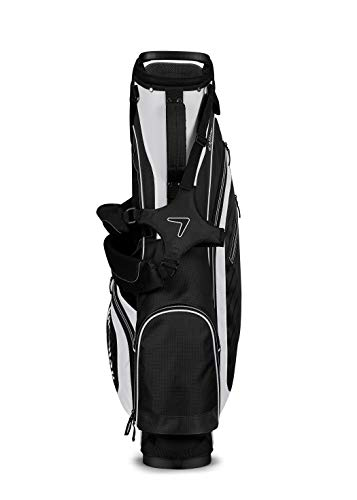 Callaway Golf Capital Prime 4.0 Stand Bag,Black/White/Charcoal