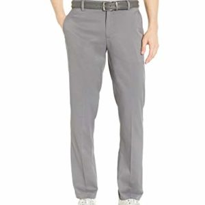 Amazon Essentials Men's Standard Straight-Fit Stretch Golf Pant, Gray, 34W x 32L