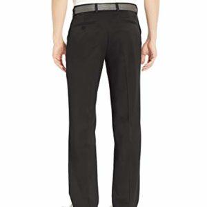 Amazon Essentials Men's Standard Classic-Fit Stretch Golf Pant, Black, 36W x 32L