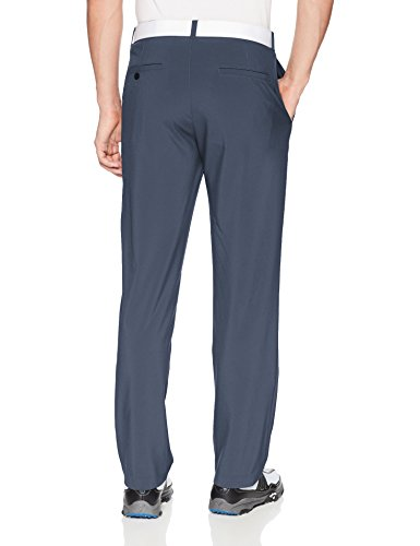 Jack Nicklaus Men's Solid Golf Pants with Active Waistband, Classic Navy 2, 44W x 30L