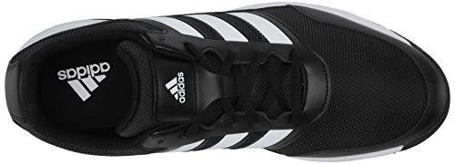 adidas Men's TECH Response 2.0 Golf Shoe, core Black/FTWR White/core Black, 11 Medium US