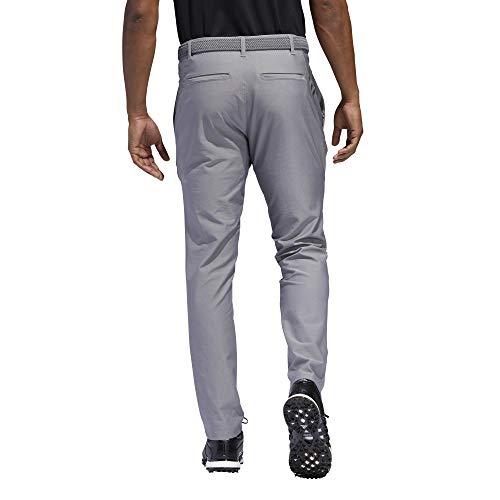 adidas Golf Ultimate 3-stripe Tapered Pant, Grey Three, 3432