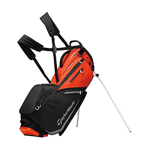 TaylorMade 2019 Flextech Stand Golf Bag, Black V2