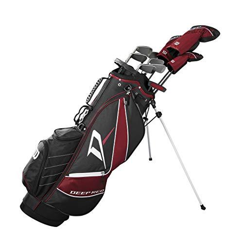 Wilson Deep Red Tour Complete Golf Set Men's, Right Hand, Regular