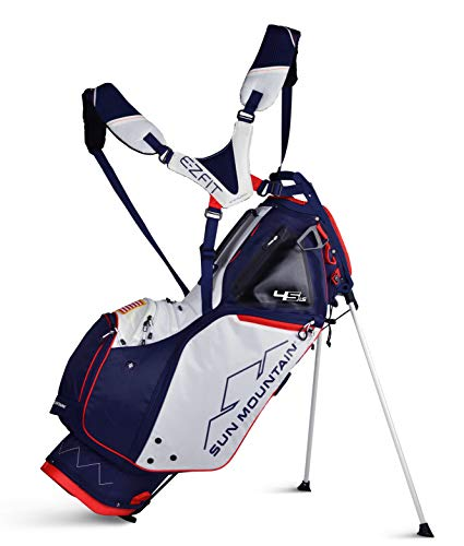 Sun Mountain 02SM260 NVRD 2019 4.5 Ls Stand Bag, Navy/Red, Large