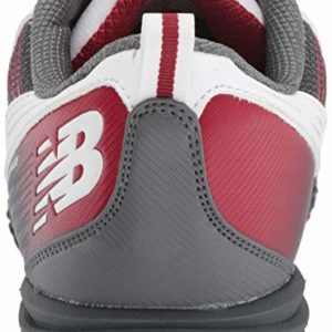 New Balance Men's Minimus SL Waterproof Spikeless Comfort Golf Shoe,white/maroon,9.5 D D US