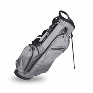 Hot-Z Golf 2.0 Stand Bag (Gray/Black)