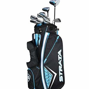 Callaway Women's Strata Plus Complete Golf Set (14-Piece, Right Hand, Teal)